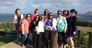 Infinity Holidays consultants off to Norfolk Island
