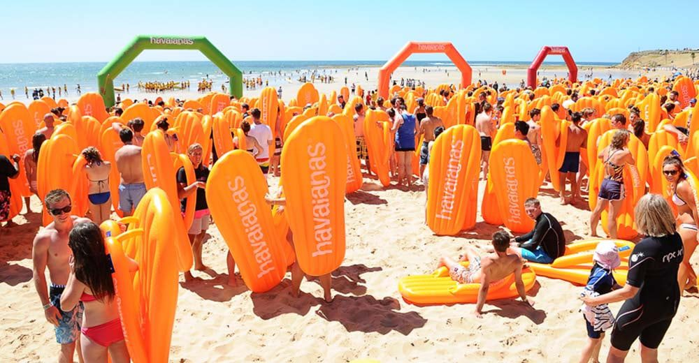 Havaianas Australia Day Thong Challenge calls out for Sydneysiders