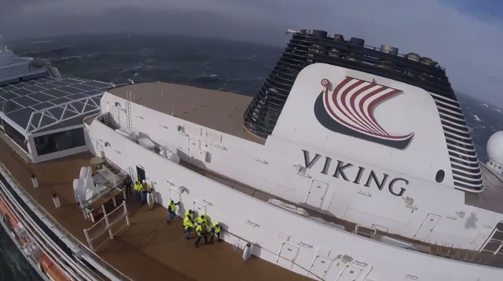 EVERYONE IS SAFE: Viking Sky docks safely after engine troubles