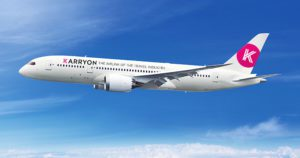 KARRYON FLYING: The Industry's newest airline soon to take flight
