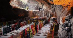 UNDERGROUND RESTAURANT: Want to eat amazing, homemade tortillas in a volcanic cave?