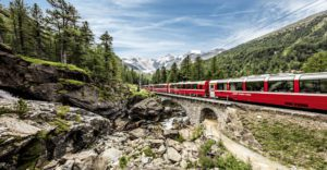MAKING TRACKS: A Grand Tour Of Swiss Trains