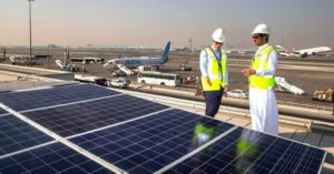 LEADING THE WAY: Dubai Airport goes green with 15,000 new solar new panels