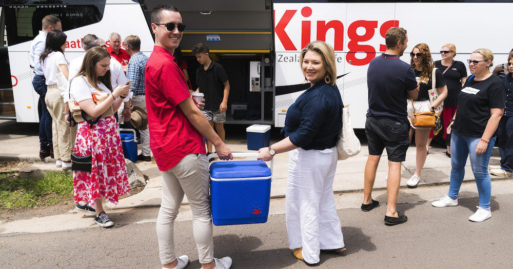COMMUNITY SUPPORT: AAT Kings Helping Australia Bounce Back