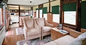 RAIL GOOD STAY: Sleep In A Railway Carriage In The English Countryside